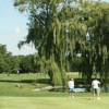 A view of fairway #4 at Twin Lakes Golf Course