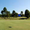 A view of a green at Hillcrest Golf Course