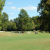 A view of a tee at Hillcrest Golf Course