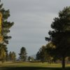A view of green #18 at Lake View Golf Course