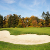 A view of a green at Weequahic Park Golf Course