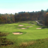 A view of hole #8 at Blue Course from Blue Ridge Trail Golf Club.