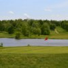 A view of the 18th green at Cherry Wood Golf Course