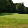 A view of a hole at Salt Fork State Park Golf Course
