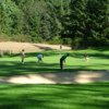 A view of a green at Eagles Pride Golf Course