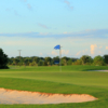 A view of a hole protected by bunkers at St. Mary Golf & Country Club