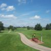 A sunny day view from Hughes Creek Golf Club