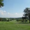 A view of a tee at Hughes Creek Golf Club