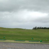 A cloudy view from the driving range tees at Ballinasloe Golf Club
