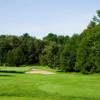 A view from a tee at Glen Cedars Golf Club