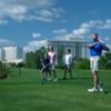 Golfers on Waldorf Astoria Golf Course