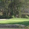A view of a green at Hickory Heights Golf Club