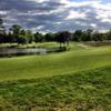 A cloudy view fom Blue Heron Pines Golf Club