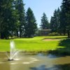 A view of the 10th green at Lake Spanaway Golf Course
