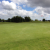 A view of a green from The Golf Club at Eagle Creek
