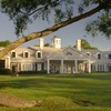 The back lawn of the clubhouse at Pawleys Plantation Golf & Country Club