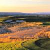 A view from a tee at Purple Sage Golf Course