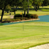 A view of a hole at Riverbend Country Club