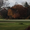 A view of the 9th green at Brown County Golf Course