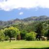 A sunny day view from Mount Saint Helena Golf Course
