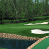 View of the par-5 6th hole from the Chester Course at Mount Vintage Plantation Golf Club
