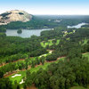 Aerial view from Stone Mountain Golf Course - Lakemont Course
