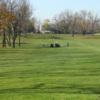 A view of a fairway at Arrowhead Golf Course