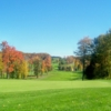 A view of a green at Bavarian Hills Golf Course