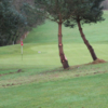 A view of a green at Loughgall Golf Club