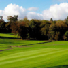 A sunny day view of green #10 at Enniskillen Golf Club