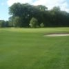 A view of a green protected by bunkers at Dalziel Park Golf and Country Club