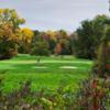 A view of a green at Bella Vista Golf Course