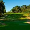 A view from tee #1 at Cricket St. Thomas Golf Club