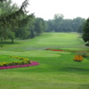 View of a fairway and tee from the Val Brooks Course at Brooks Golf Club