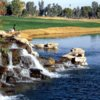 A view of a hole at Camelback Golf Club