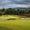 The bunkers at Spey Valley Golf Course.
