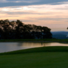 Sunset view from a green at Grand View Golf Club