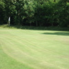 A view of the 1st green at Lochwinnoch Golf Club