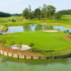 A view of the island green from Koasati Pines At Coushatta