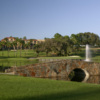 """View from no. 8 (""""Island Green"""") on El Campeon Course at Mission Inn"""