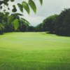 A sunny day view of a green at Cheekwood Golf Club