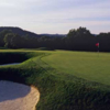 A view of a green at Oakmont Country Club