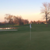 A view of a hole at Pebble Brook Golf Club