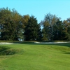 A view of green #13 at Pittsburgh National Golf Club