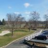 A sunny day view from Pinch Brook Golf Course