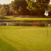 A view of a hole at Southbridge Golf Club