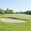 A view of fairway #3 at Hornsea Golf Club