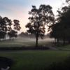 Misty morning at Meadowlands Golf Course
