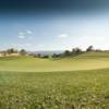 A view of a hole at Four Mile Ranch Golf Club