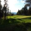 A sunny day view of green #4 at Wilderness Club
